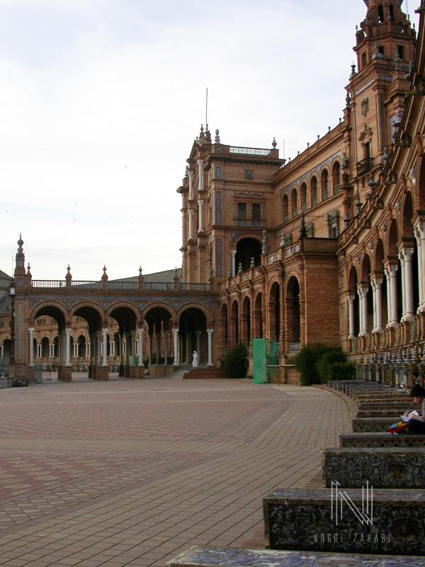 Plaza de Espana Seville Spain 2003