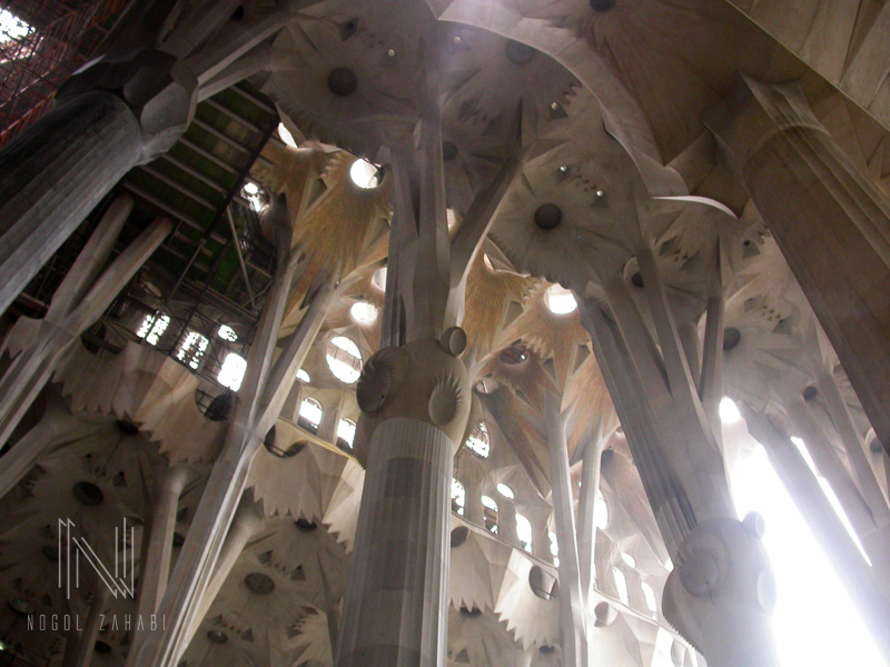 Sagrada familia Barcelona Spain 2005