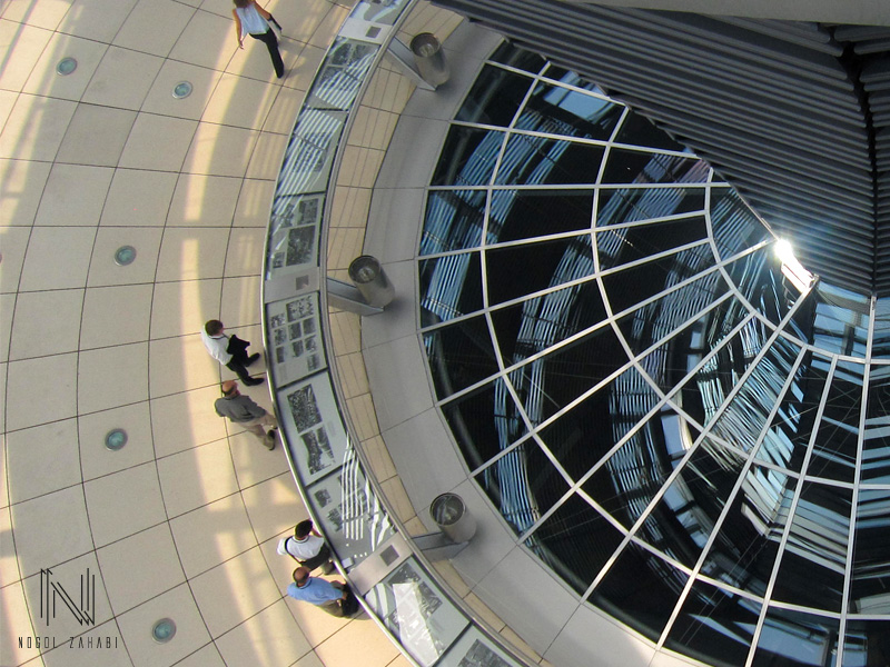 Reichstag Dome Berlin Germany 2015