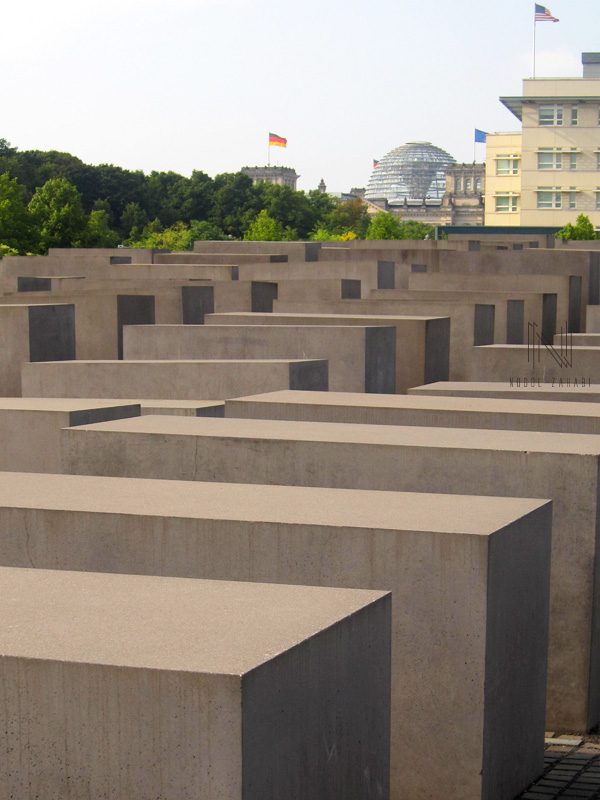 Holocaust Memorial Berlin Germany 2015