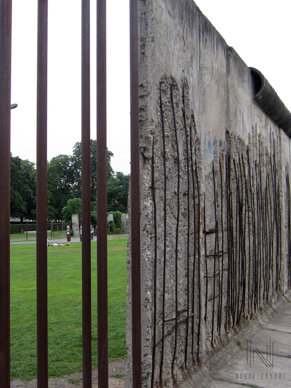 Chapel of Reconciliation and the Wall Berlin Germany 2015