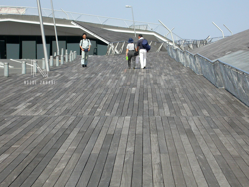 Yokohama International Terminal Port Tokyo Japan Foreign Office Architects 2004