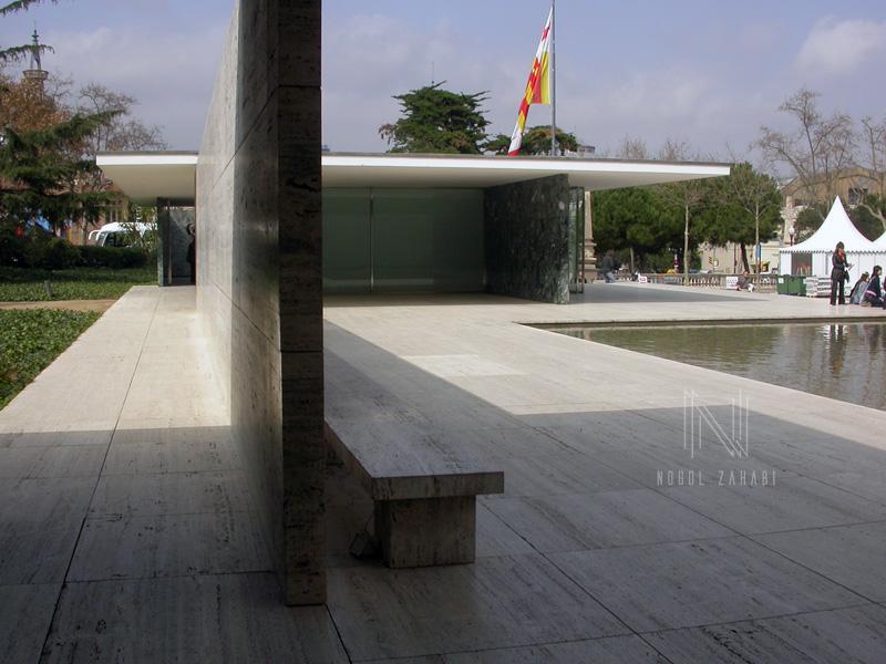 Mies Van Der Rohe Pavilion Barcelona Spain 2005