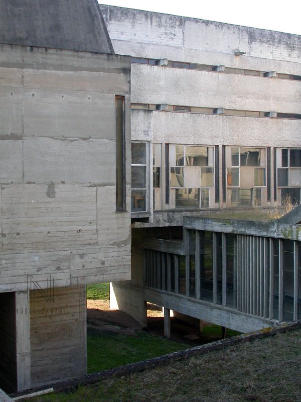 Sainte Marie de La Tourette Lyon France 2005